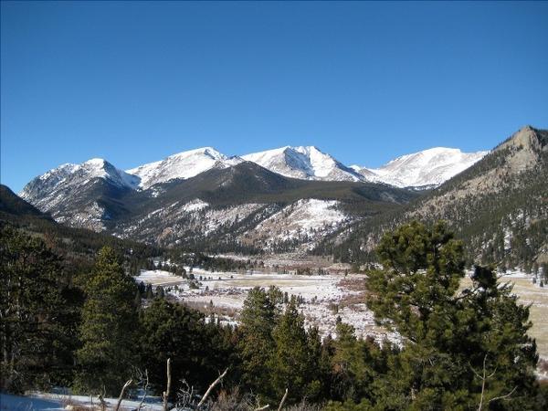 Mummy Range, Rocky Mountain National Park