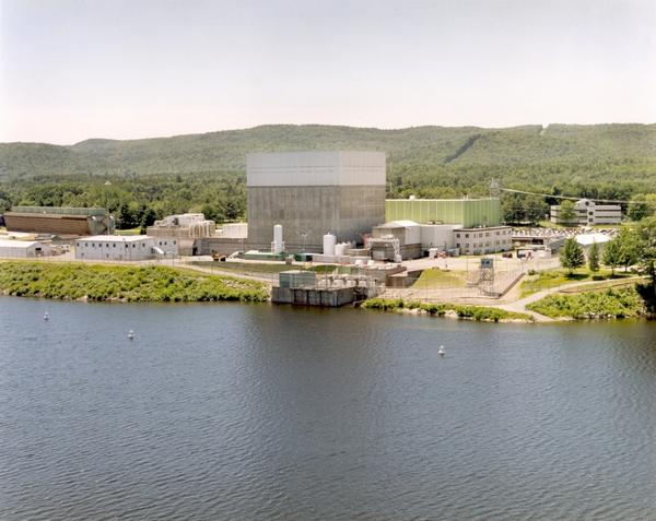 Vermont Yankee Nuclear Power Plant in Vernon, Vermont, stopped operations in December 2014.
