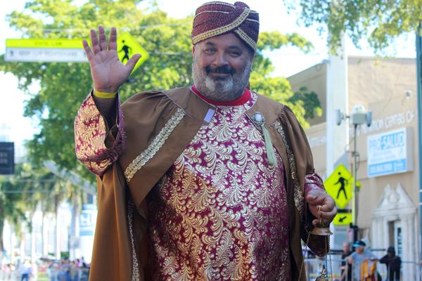The Three Kings Day Parade, also known as Día de los Reyes Magos, paraded down Miami's Calle Ocho on Sunday, Jan. 13, 2019.