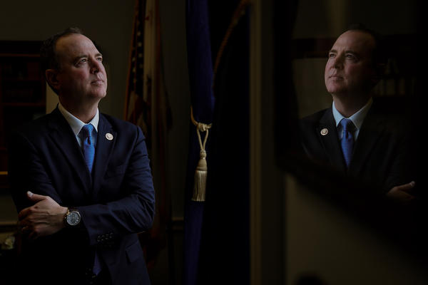 Rep. Adam Schiff told NPR he intends to use his power to convene hearings, call witnesses and get information.