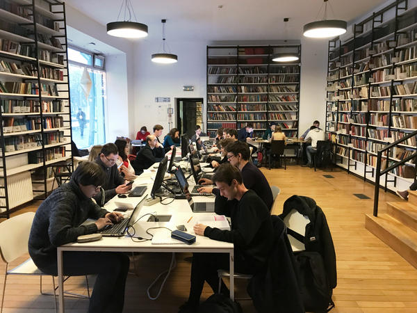 Moscow's Fyodor Dostoevsky Library was renovated in 2013 and now sees some 500 visitors a day, up from just a dozen or so per day in earlier years. The library hosts language clubs, readings, lectures and concerts.