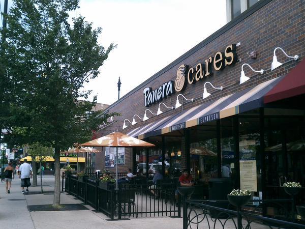 This Panera Cares store in Chicago switched from for-profit to non-profit, and it started asking customers to pay whatever they want.