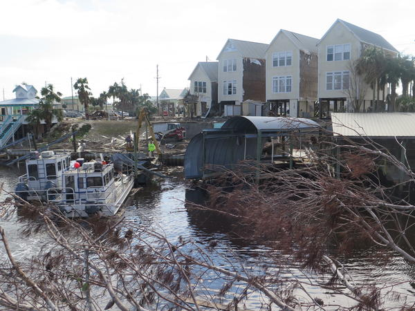 In early October, Hurricane Michael devastated Florida's Panhandle, leaving beachside communities in ruins. The cost of removing debris from Mexico Beach, including its canals, is expected to top $25 million.