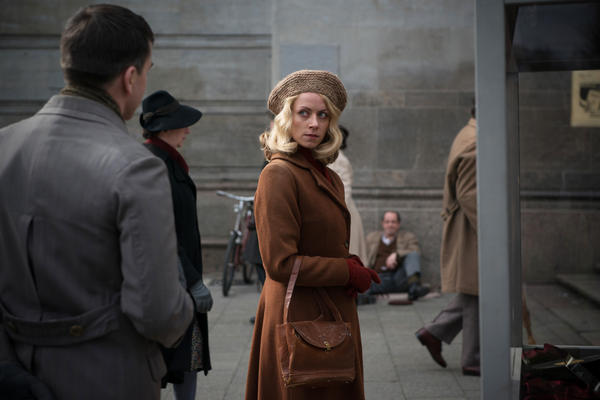 Alice Dwyer plays the young Hanni Lévy in <em>The Invisibles, </em>which focuses on the lives of four German Jews who stayed in Germany during World War II and survived.