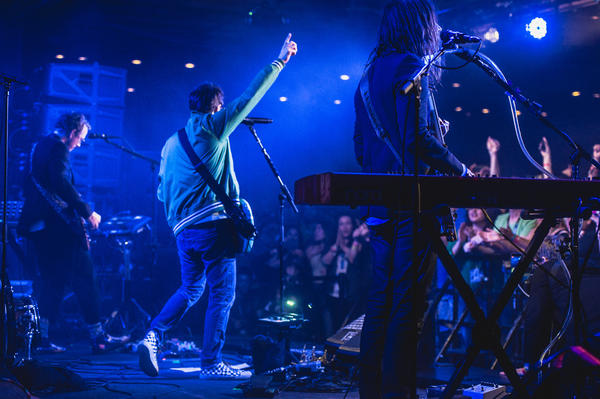 Weezer played a feel-good, sing-along set Friday at SXSW in Austin.