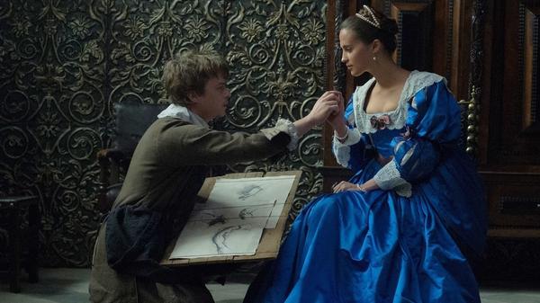Artist Jan Van Loos (Dane DeHaan) begins an affair with Sophia Sandvoort (Alicia Vikander) in <em>Tulip Fever.</em>