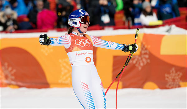 Western Washington University student Breezy Johnson competed at the 2018 Winter Olympics in women's downhill and Super-G.