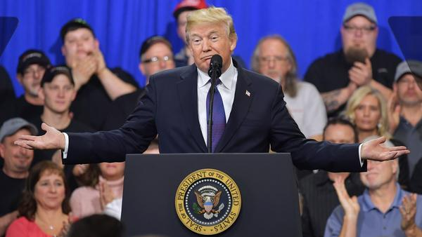 "When he spoke last month at hydraulic cylinder manufacturer Sheffer Corp. in Blue Ash, Ohio, President Trump told the crowd ""history is not on our side"" in the 2018 midterms."