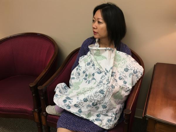 Virginia Del. Kathy Tran often brings her baby to work and has breastfed on the House floor in Richmond.