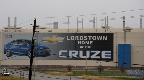 GM's Lordstown, Ohio, plant is one of five in North America that the company plans to shut down. The Trump administration threatened to retaliate by withholding federal subsidies for the company's cars.