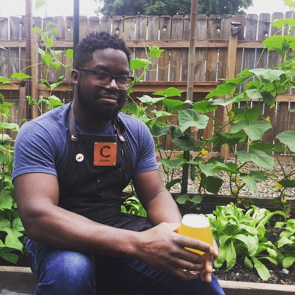 Kuma Ofori-Mensa is a brewer at Cultivate Coffee & Tap House.