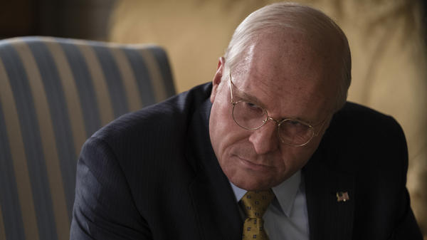 Not throwing away his shot(gun): Christian Bale's Dick Cheney smirks and glowers in <em>Vice</em>.