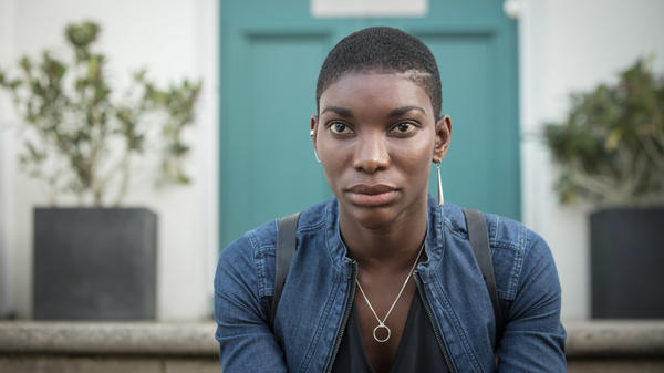 Michaela Coel plays a survivor of the Rwandan geonocide in the BBC/Netflix miniseries, <em>Black Earth Rising.</em>