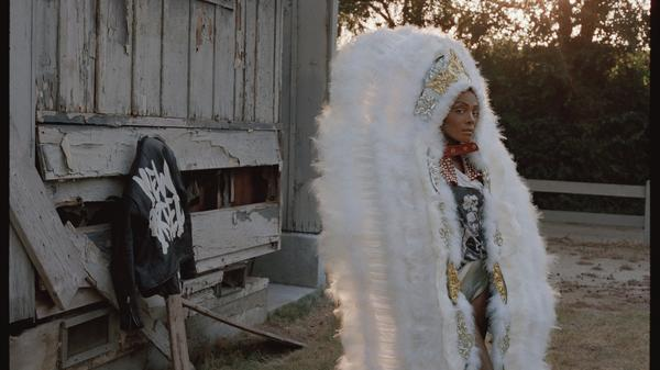 """""""In the midst of the worst of times, we find a way to dance,"""" DAWN says of her hometown, New Orleans. The artist used New Orleans as inspiration for her latest album, <em>new breed</em>."""