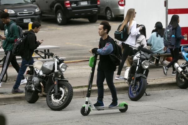 City of Austin Transportation officials are focusing on rules for scooters operating in the city right now but are always on the lookout for the next transportation innovation that could hit city streets.