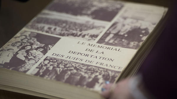 <em>Le Mémorial de la Déportation des Juifs de France</em> names Jews deported in the Holocaust. Some got word this week they are receiving payments from the French government in reparation.