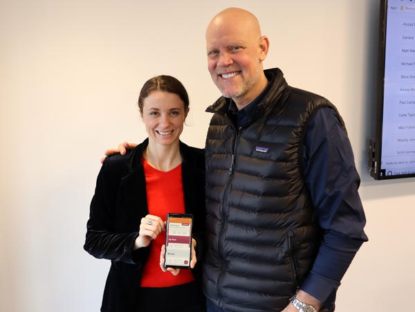 Daniela Tudor and Murphy Jensen co-founded WeConnect Health in Seattle, which developed an addiction recovery app.