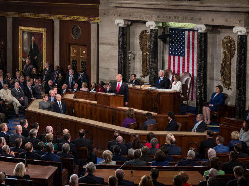 NPR fact-checked both President Trump's State of the Union address and the Democrats' response delivered by Stacey Abrams.
