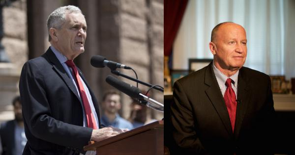 Texas Reps. Lloyd Doggett (D-Austin) and Kevin Brady (R-The Woodlands).