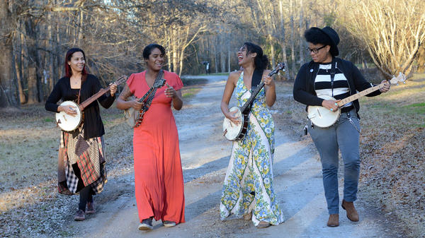 Our Native Daughters' <em>Songs Of Our Native Daughters </em>comes out Feb. 22 via Smithsonian Folkways.