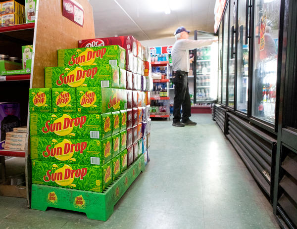 Convience store managers say they have difficulty keeping Sun Drop in stock around Grundy County, Tenn.