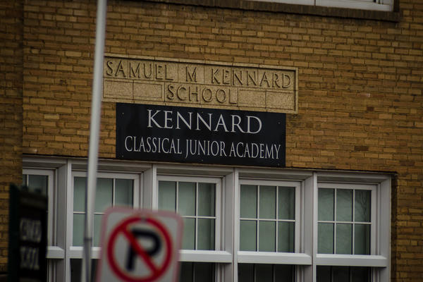 Samuel M. Kennard School was built in St. Louis' North Hampton neighborhood in 1928 and named for a former Confederate soldier and businessman. Parents of the gifted school now located in the building want the school's name changed.