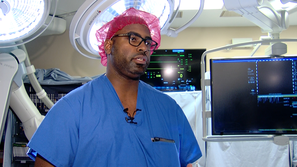 Dr. Arnold is chief of surgery at Herrin hospital and performs robotic surgery.