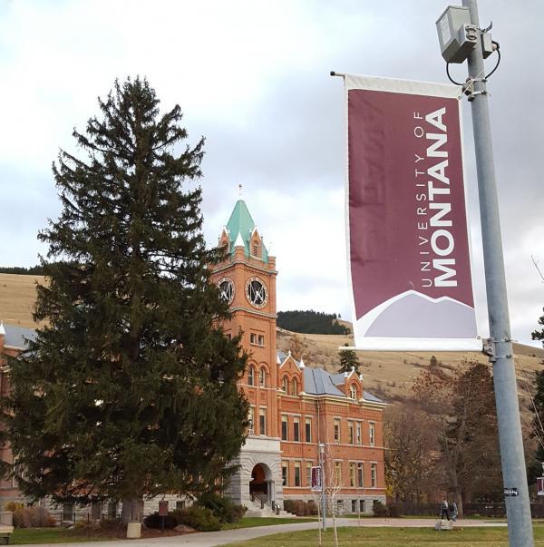 The University of Montana campus.