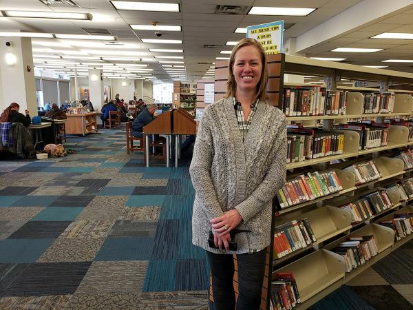 Alicia Kwande is the social worker for the Pikes Peak Library District.