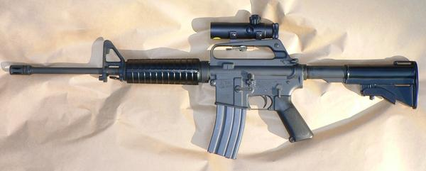 An AR-15, one of the weapons Ohio Gun Owners says would be banned if the law takes effect as written.