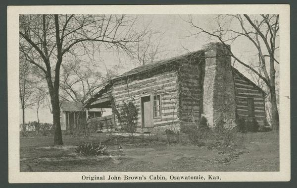 John Brown's cabin in Osawatomie is one of eight sites on the African-American History Trail.