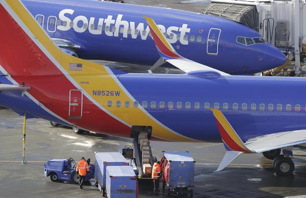 Last week, Southwest took more than 40 of some 750 aircraft out of service at four locations, spurring flight delays and cancellations.