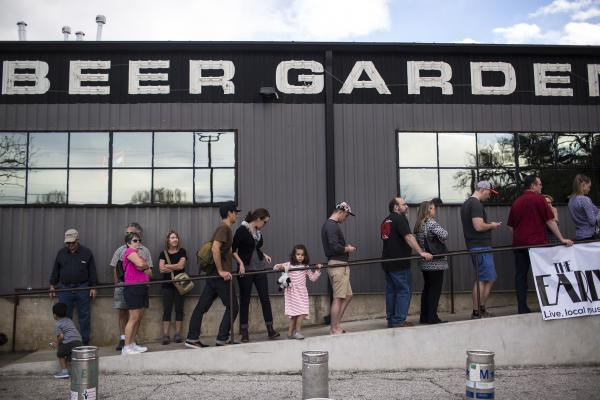 Consumers would be able to take home beer from ABGB and other local brewers if a beer-to-go law passes in Texas.