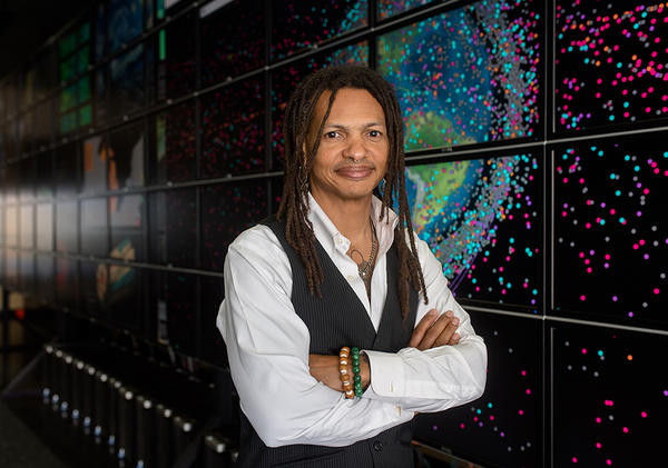 Professor Moriba Jah is an associate professor of aerospace engineering at the University of Texas at Austin. He has been named a 2019 TED Fellow.