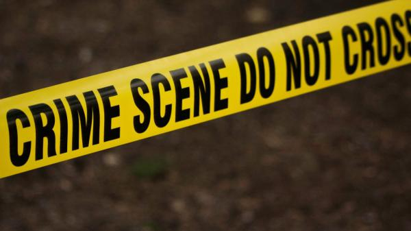 Police crime scene tape. Thursday's shooting in Aberdeen, Md. left four people dead, including the suspected shooter, Snochia Moseley.