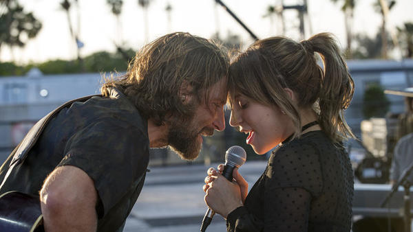 """Bradley Cooper and Lady Gaga perform """"Shallow"""" in <em>A Star Is Born</em>. It's likely to win Best Original Song at the Academy Awards this Sunday, but should it?"""