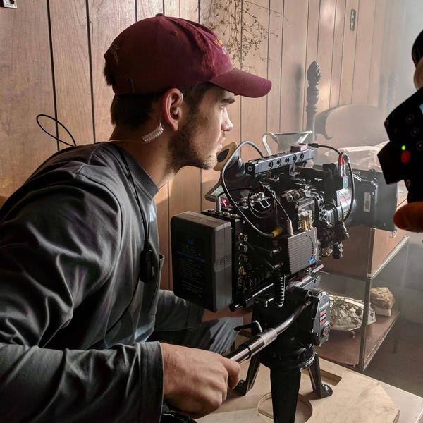 """Sam Davis is nominated for an Oscar for his work as director of photography for the film """"Period. End of Sentence."""""""