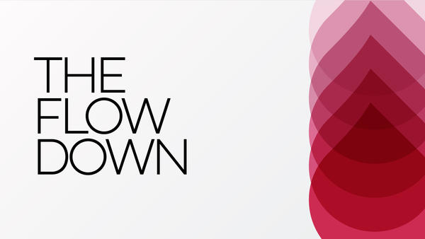 """""""The Flow Down,"""" is podcast all about periods that is hosted by journalist  Jessica Weiss and women's health coach Stefanie Kleinburd."""