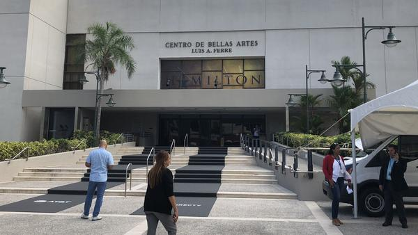 Puerto Rico's Fine Arts Center.