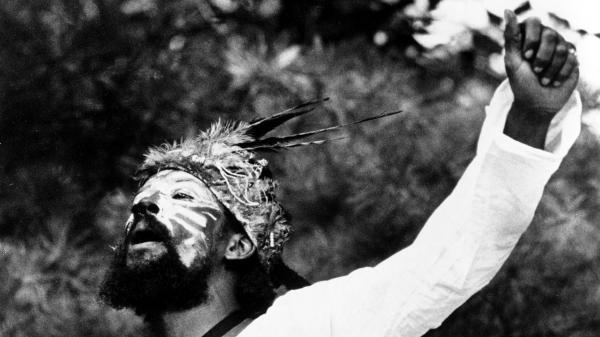 Joseph Jarman, performing in 1970.