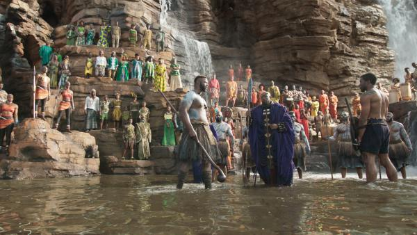 Production designer Hannah Beachler was responsible for devising the look of <em>Black Panther</em>, from the waterfall amphitheaters of Wakanda to its high-tech laboratories and aircraft.