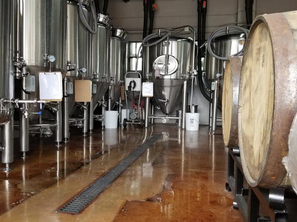 """Mastry's Brewing Co. in St. Pete Beach considers itself more of a """"mom-and-pop"""" brewery. From your seat at the bar you can see vats of beer brewing in the back room."""