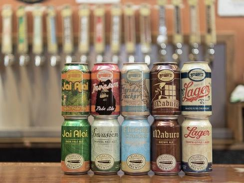 Cigar City Brewing got into Tampa's craft beer scene just as it was taking off and has since grown immensely. The company is now part of a national brewery collective called CANarchy.
