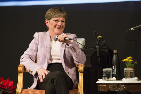 Laura Kelly's election as governor in November was a big win for Democrats.