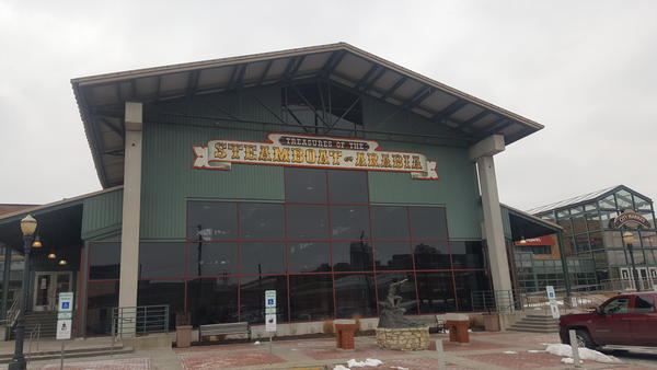 The lease for the Steamboat Arabia Museum at Kansas City's City Market will expire in 2026.