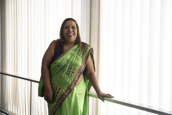 Marini de Livera, a pro bono lawyer from Sri Lanka, was honored at the U.S. Department of State on Thursday.