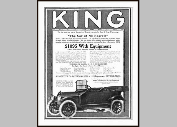 Henry Ford might be the most famous automotive pioneer, but Charles B. King beat him to Detroit's first drivable car by about three months.