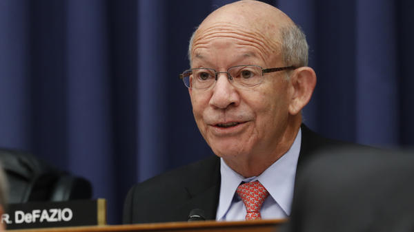 Rep. Peter DeFazio, D-Ore., who chairs the House Transportation Committee wants to work with the White House on a bipartisan infrastructure bill. At the same time, his panel is investigating a lease given to the Trump International Hotel in Washington, D.C.