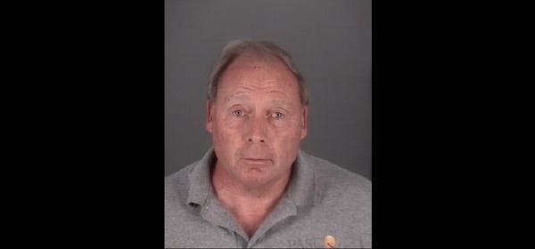 Mug shot of Port Richey vice mayor Terance Rowe, who was arrested Wednesday on obstruction charges.