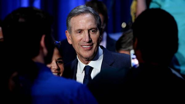 Former CEO Howard Schultz spoke at Miami Dade College on Wednesday about what is presidency would look like, should he run and win.